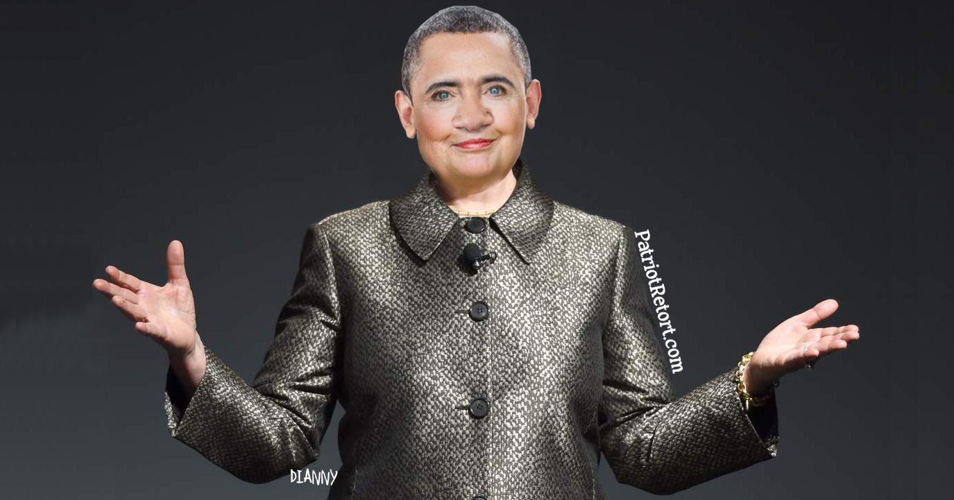 Obama in a Pantsuit