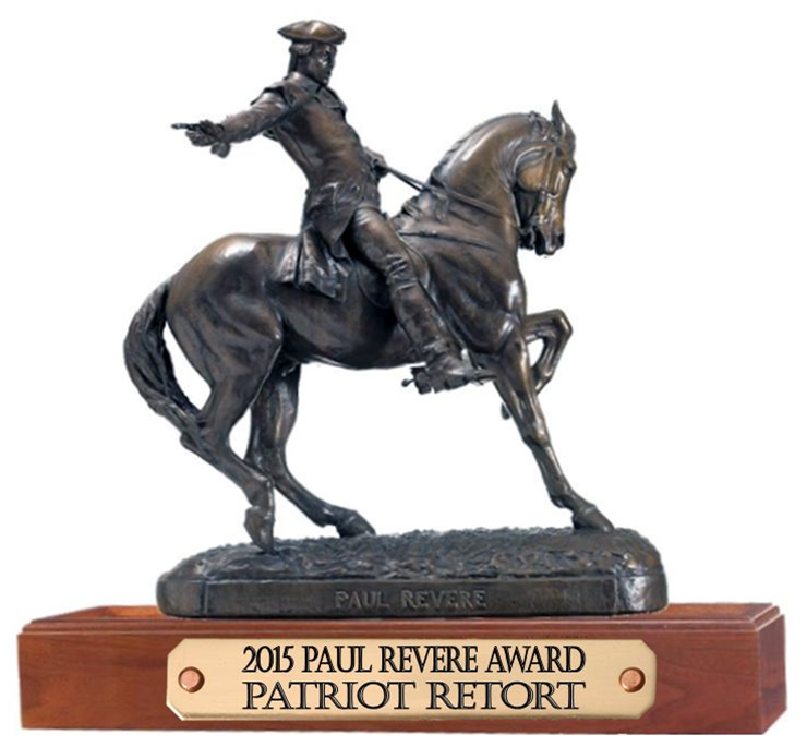 Paul Revere Award For Patriot Retort