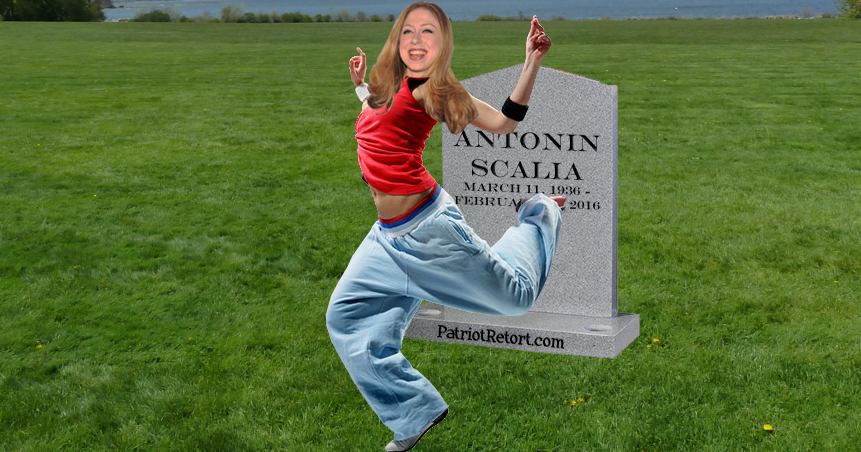 Dancing on Scalias Grave