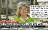 San Juan Mayor stunned to discover she's the Mayor of San Juan