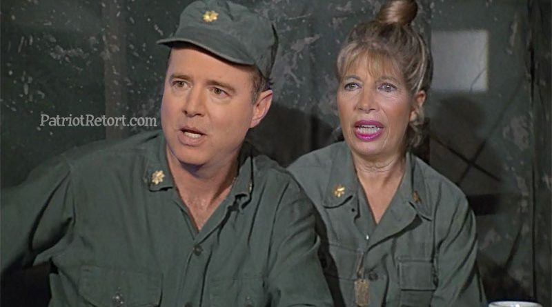 Ferret-Face Schiff and Hot Lips Speier