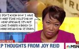 Joy Reid punches her own network in the 'nads