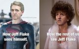 Jeff Flake: The Alexis Carrington of the Senate