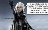Elizabeth Warren takes on winter!