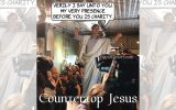 Countertop Jesus says running for President is his charitable giving