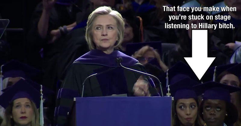 Hillary commencement address