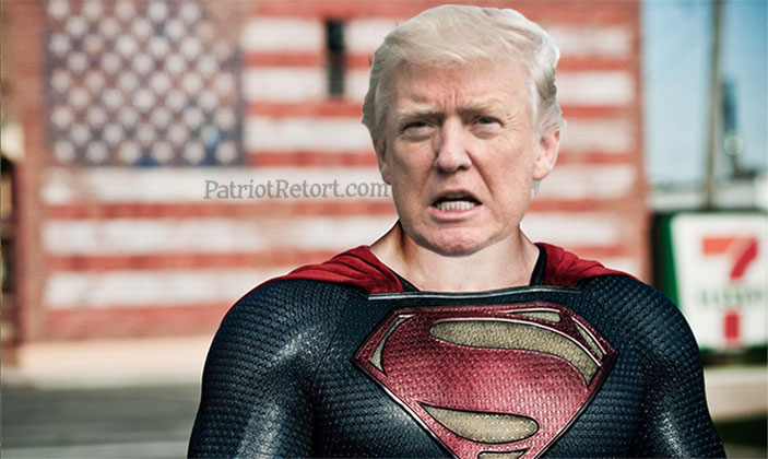 Superman Trump