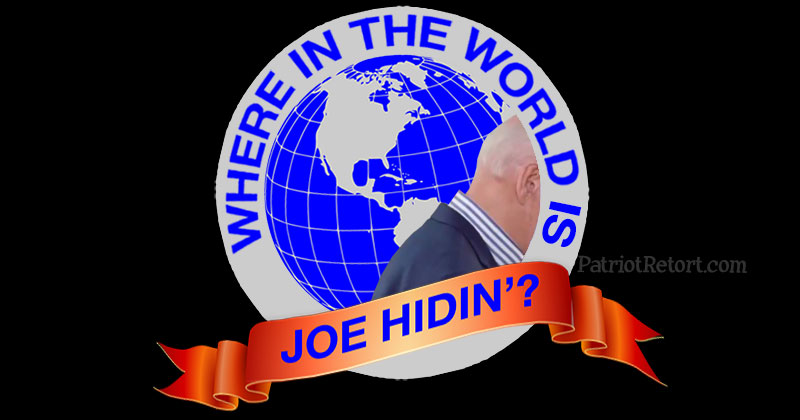 Where in the World is Joe Hidin'?