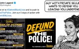 """Defund the Police"" say wealthy celebrities with private security"