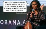 Michelle Obama: The Word Salad Queen