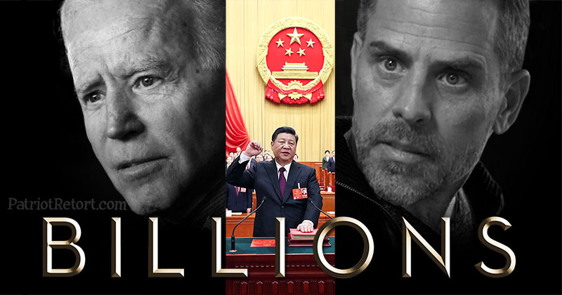 China is not an opponent?! Well, not for the Biden Family