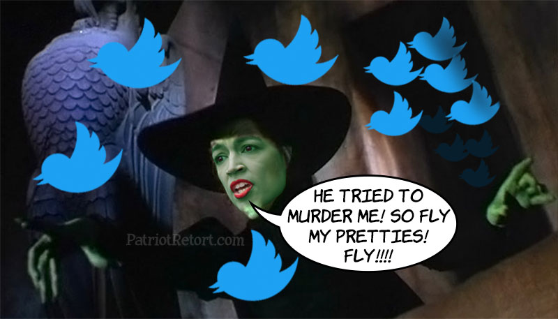 This wretched witch needs to curb her incendiary rhetoric